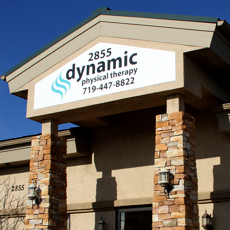 Dynamic Physical Therapy Custom Sign Dibond on Office Space