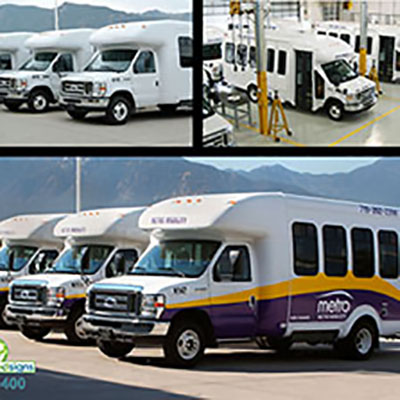 Metro Mobility Busses 30 qty Project for the City of Colorado Springs