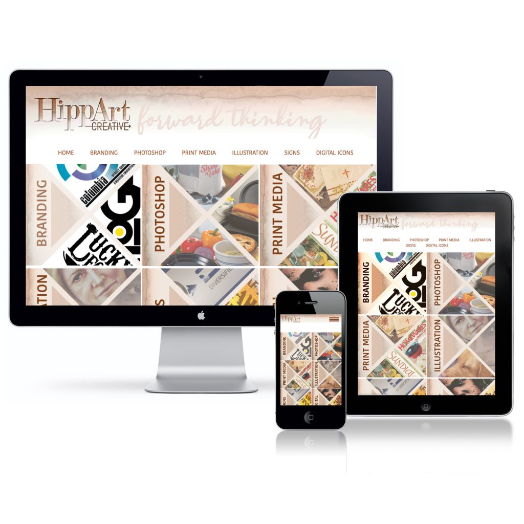HippArt Website Design, HTML and CSS