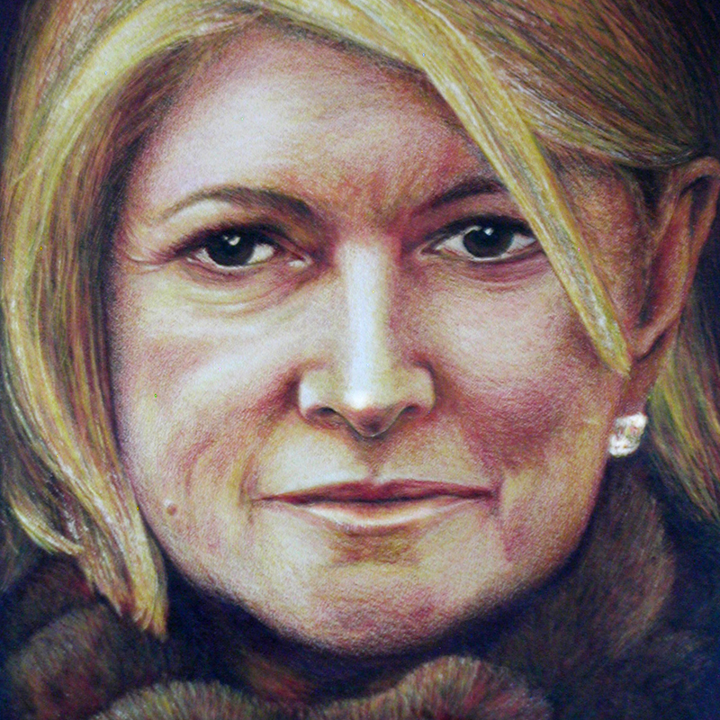 Martha Stewart Watercolor and Pencil