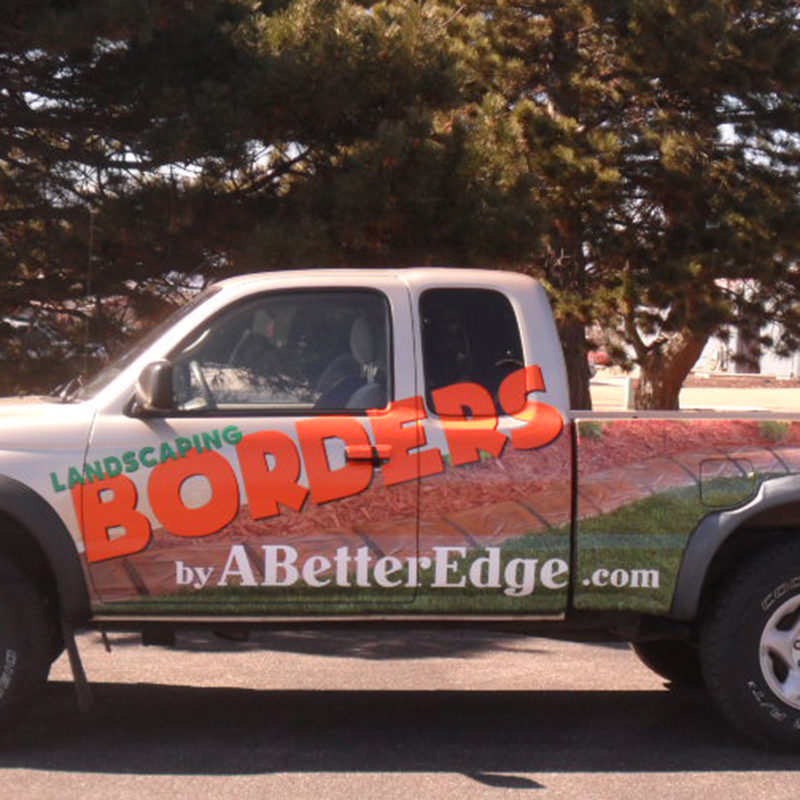 A Better Edge Landscaping Truck Wrap