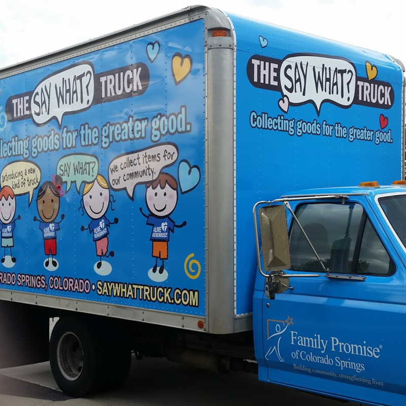 The Say What Food Truck - Family Promise