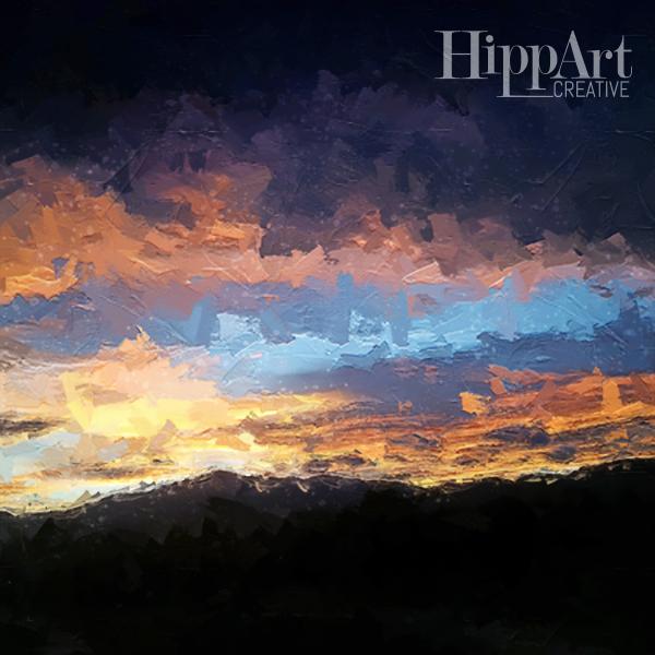 Sunset Colorado Mountain