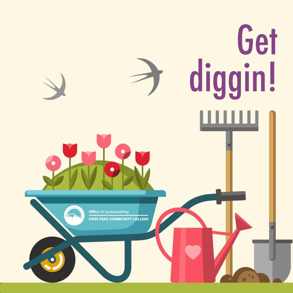Get diggin Garden tools
