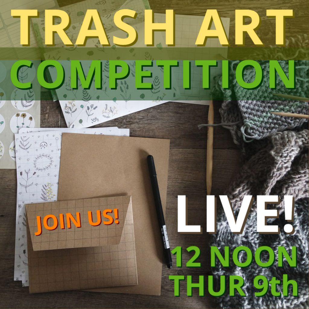 Trash Art Post
